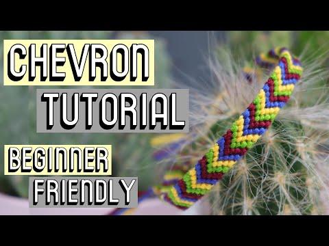 CHEVRON TUTORIAL || Friendship Bracelets