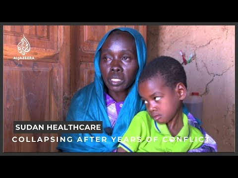 Sudan healthcare system collapsing after years of conflict
