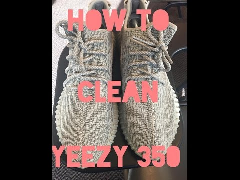 How To Clean Adidas Yeezy Boost 350 (Or Any Other Shoe)
