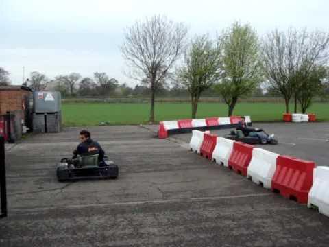 Trick Go Kart Driving 180 Spin No Crash Youtube
