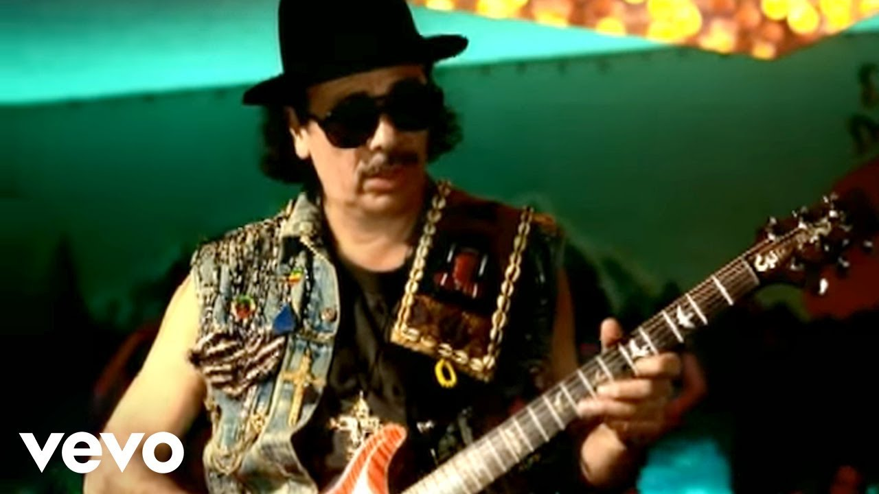 Santana Put Your Lights On Ft Everlast Official Video Youtube