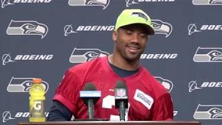 Seahawks Quarterback Russell Wilson Week 11 Press Conference
