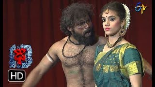 Aqsa Khan Performance | Dhee 10 |  14th  March 2018| ETV Telugu
