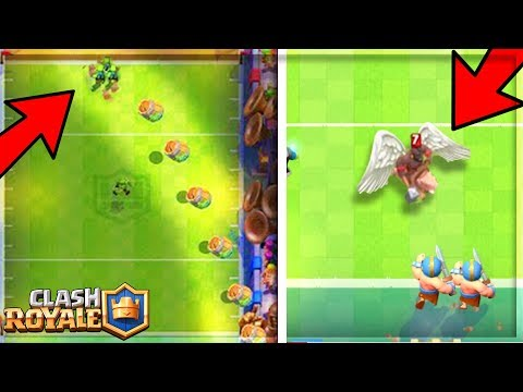 Clash Royale 6 BUGS/GLITCH SUR LE TOUCHDOWN !