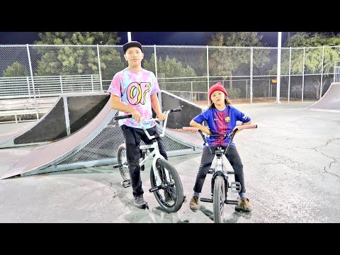 GAME OF BIKE 8 YEAR OLD STREET LORD VS 13 YEAR OLD BROTHER