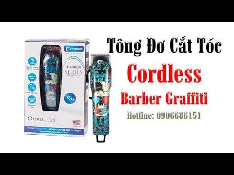 Tông Đơ Cắt Tóc Barber Graffiti - Tông Đơ Chuyên Fade