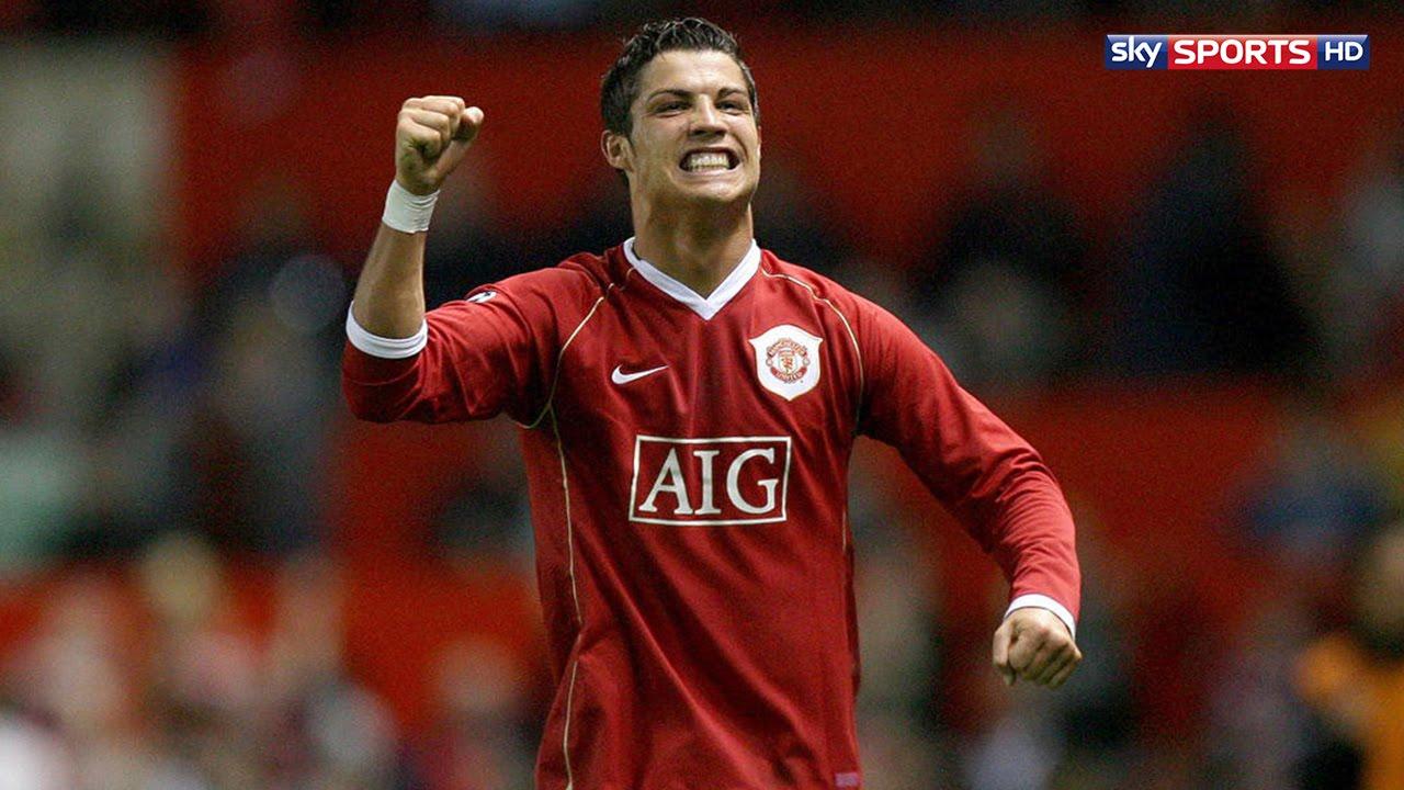 Cristiano Ronaldo vs AS Roma Home 06-07 by Hristow - YouTube