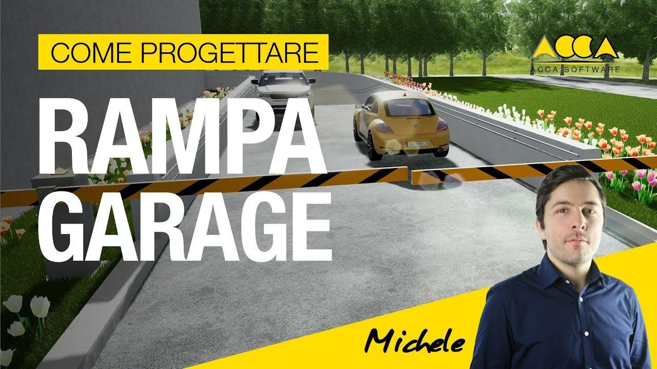 Rampe Garage In Porfido progetto rampa garage, la guida completa   biblus-bim