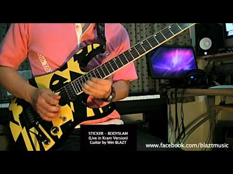 Sticker - BODYSLAM (พร้อม TAB - Live in คราม Version) Guitar Cover by WHIN
