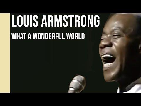 Louis Armstrong - What A Wonderful World 1968  sub Español +