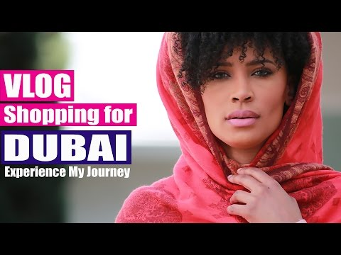 VLOG | Shopping for Dubai