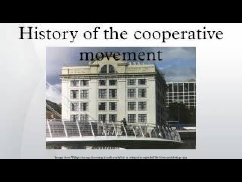 History of the cooperative movement