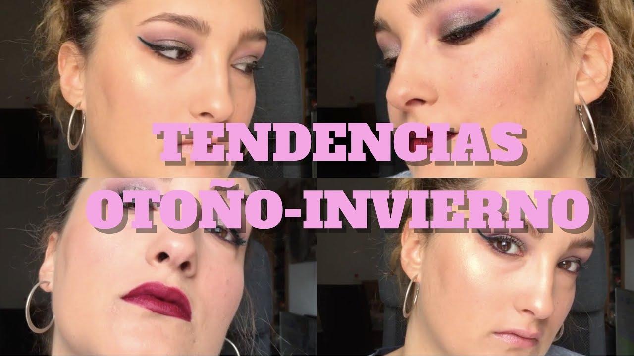 Tendencia de maquillaje 2019 Otoño- Invierno