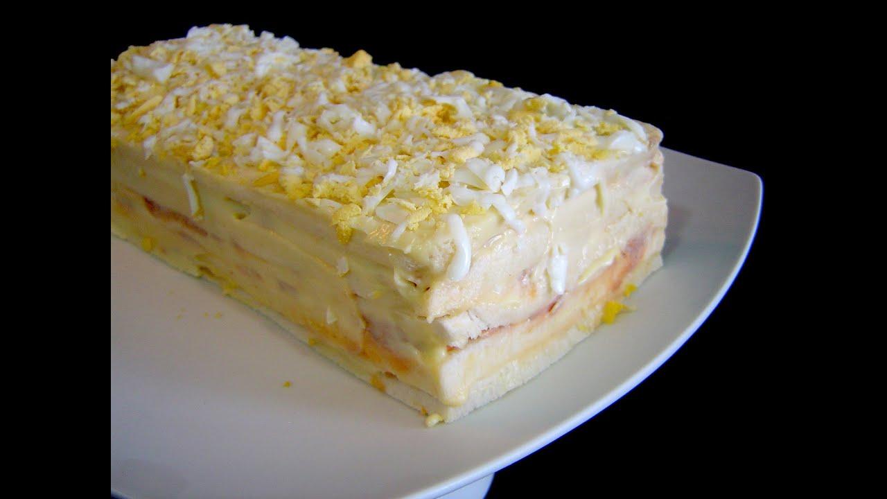 Pastel De Atún Frío Receta Fácil Youtube