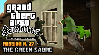 GTA San Andreas Remastered - Mission #27 - The Green Sabre (Xbox 360 / PS3)