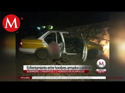 Hombres armados y policías se enfrentan en Acapulco: hay dos muertos