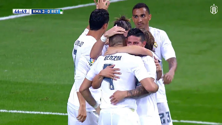 real madrid vs real betis 50 all goals and highlights