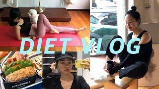 [다이어트 Vlog]🌞🌈(ENG)#-20kg감량#다이어트브이로그#송리단길 다운타우너 먹방#GU쇼핑#홈트레이닝 여자 15분 홈트#일상브이로그 #dietvlog