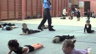 открытый урок по гимнастике...10