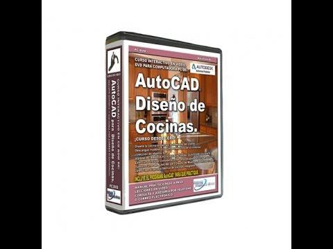 AutoCAD 2014 3D Diseño de Cocinas Curso | Tutorial | Leccion Gratis ...