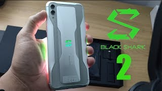 ★ Xiaomi Black Shark 2 - 12GB RAM 256GB ROM Insano!!!  Unboxing PT-BR