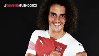 Welcome to Arsenal, Matteo Guendouzi!