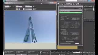 3ds max - Mental Ray / Daylight System.