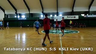 Handball. U17 boys. Sarius cup 2017. KSLI Kiev (UKR) - Tatabanya KC (HUN) - 8:9 (1st half)