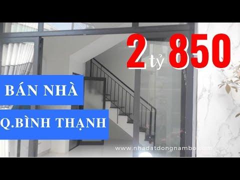 Bán nhà HXH 153 Nguyễn Thượng Hiền, P.6, quận Bình Thạnh, giá 2 tỷ 850