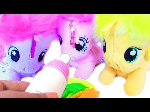 My Little Pony Baby Ponies Май Литл Пони Мультик Baby Pony Видео для Детей MLP Игры для Девочек