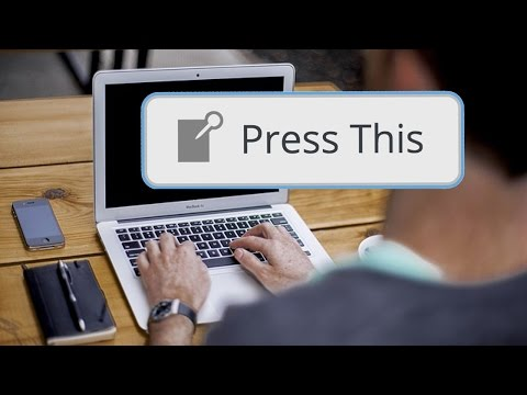 How Radio DJs Can Use the WordPress Press This Feature to Blog Quicker