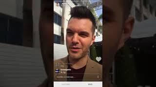 Laura Marano|| AJ Gibson livestream|| January, 6th, 20178