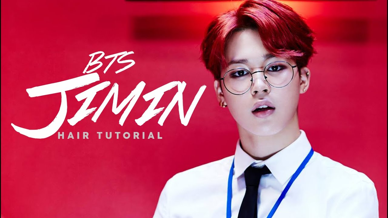 BTS JIMIN HAIR TUTORIAL 방탄소년단 지민 Edward Avila YouTube - Bts v hairstyle tutorial