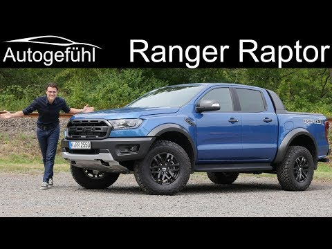 Ford Ranger Raptor FULL REVIEW onroad vs offroad comparison - Autogefühl