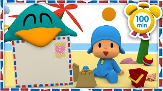 📨 POCOYO in ENGLISH - Summer Postcards [100 minutes] | Full Episodes | VIDEOS and CARTOONS for KIDS