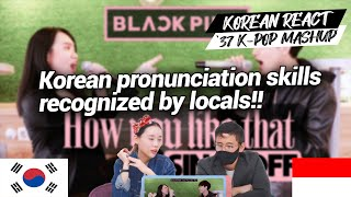 Download lagu Korean Reaction BLACKPINK - How You Like That 37 KPOP SONGS MASHUP | Indonesia