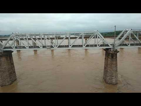 Narmada river from Hoshangabad bridge