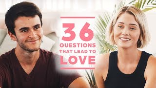 Gambar cover Can 2 Strangers Fall in Love with 36 Questions? Joseph + Briar