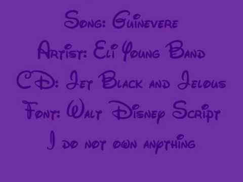 Guinevere Lyrics - Eli Young Band