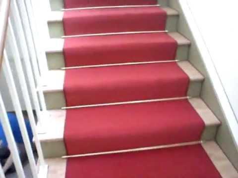 Mega Gulvtæppe på trappe - YouTube EV82