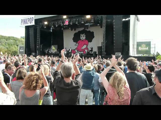 Pinkpop Classic 2012 - Fischer Z: Marliese