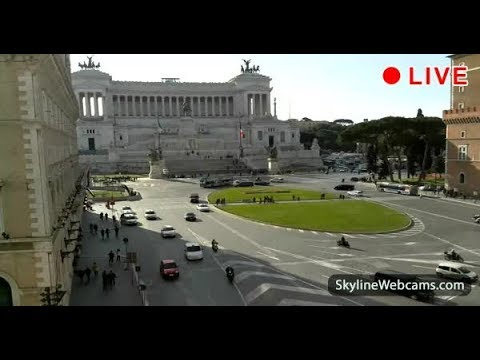 Live Webcam from Rome - Altare della Patria