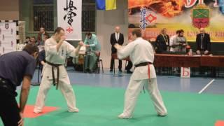 Классная техника Киокушинкай Каратэ...