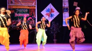 Sandhya Dance to song from sogadee chinni nayana-Sankranthi 2016