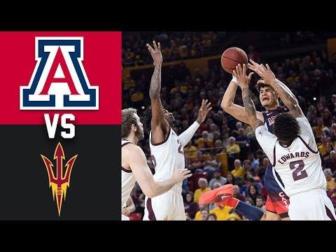 #22 Arizona Vs Arizona State 2020 College Basketball