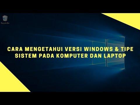 cara mengetahui tipe PC atau Laptop.