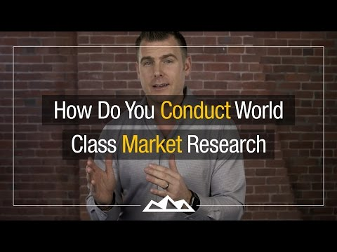 How to Conduct Market Research For Your Startup Like a Pro | Dan Martell