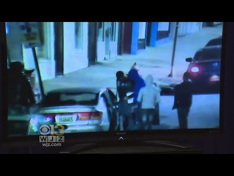 Baltimore Police Release Video Of Officer-Involved Shooting
