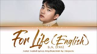 D O EXO 39 FOR LIFE ENGLISH VERSION 39 LYRICS Eng Rom Han 가사