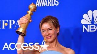 Renée Zellweger wint Golden Globe voor Judy